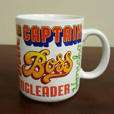 Hallmark Mugs Different Name for Boss Coffee Mug