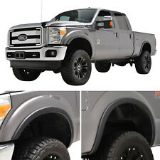 Fits 11-16 Ford F-250/F-350 4PCS Satin Black Styline Series Fender Flares