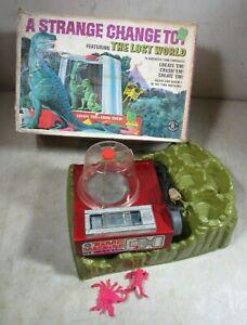 Vintage 1967 Mattel Strange Change Toy Lost World W/Box Time Machine