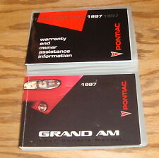 Original 1997 Pontiac Grand Am Owners Operators Manual First Edition 97