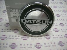 DATSUN Bonnet Hood Top Badge Genuine (Fits NISSAN Fairlady 240Z 260Z S30 B110)