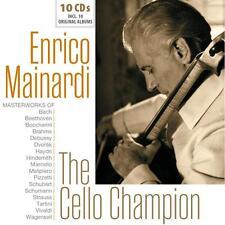 Enrico Mainardi - The Cello Champion (2017)  10CD Box Set  NEW  SPEEDYPOST