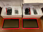 """2 Zeepads Red Model 7.0 7"""" Screen Android 4.2 WiFi Touch Screen Opened Boxes"""
