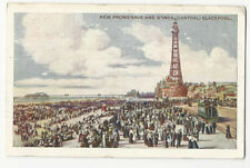 Blackpool - New Promenade and Sands - vintage Boots Chemists postcard