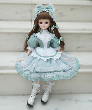"""Ball Jointed Doll BJD 1/3 City Girl Christmas Birthday Gifts Clothes 22"""" Cosette"""
