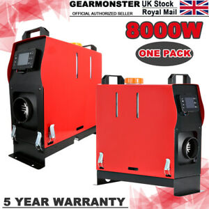 All In One 12V 5-8KW Remote Diesel Air Heater Car Boat Parking with LCD Monitor