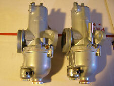 Norton  Commando  Amal  932  RH + LH Premier Carburetors , Carb 32mm  stk117PN