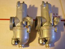 Norton  Commando  Amal  932  RH + LH Premier Carburetors , Carb 32mm  stk117PN