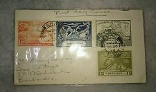 UPU Universal Postal Union 1949 4v stamp FDC from Barbados