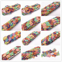2 Yards Vintage Fabric Crochet Lace Trim Flowers Embroidery Ribbon Sewing Craft