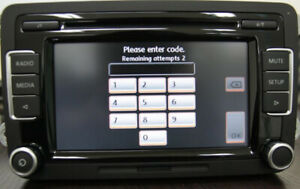 VW  Volkswagen Radio Code Unlock Decode Service Fast