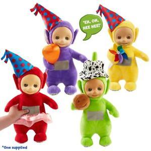 Party Talking Teletubbies Plush Toy Tinky Winky Dipsy Laa-Laa Po Teddy Soft
