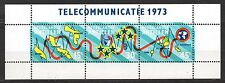 Dutch Antilles - 1973 Telephone cable Mi. Bl. 2 MNH