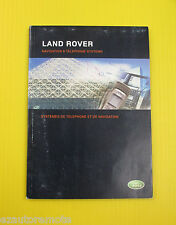 Land Rover 07 2007 Navigation System Owners Owner's Manual NAV & Phone System