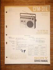 Service Manual for Sony Cfm 1048.2 oz,Original