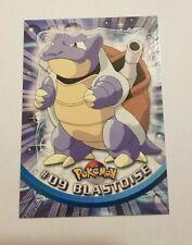 Topps #09 Blastoise Pokemon Card