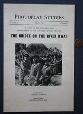 1958 Columbia Pictures Bridge on the River Kwai booklet -Alec Guinness-Wm Holden