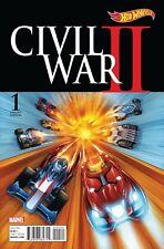 Civil War II #1 (Of 6) Mattel Variant Comic Book 2016 - Marvel