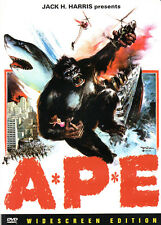 1976 Jack H. Harris Schlock Classic - A*P*E* - Korean Kong Rip Off - Widescreen