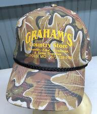 Graham's Country Store Leopold Missouri Snapback Baseball Cap Hat