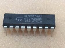 1 PC. uln2801a ST prestazioni driver 8 volte Darlington dip18 NOS #bp