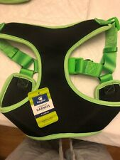Top Paw Comfort Harness. Size XL. Black/Green