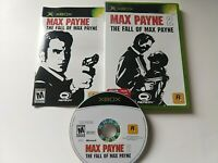 Max Payne 2: The Fall of Max Payne (Original Microsoft Xbox, 2003) Complete Game