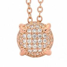 Georgini P646RG Sterling Silver Rose Gold Plated Bellevue Pendant RRP$129