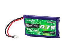 RC Turnigy Nano-Tech Plus 750mAh 1S 70C Lipo Pack (2pin Molex)