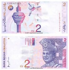 Malaysia 2 Ringgit 1996-99 P-40a Banknotes UNC