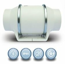 Envirovent SILMV160/100T In-Line 'Silent' Extractor Fan with Timer (4inch 100mm)