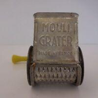Molinillo A Rallar El Queso Rallador de Mouli Cocina Francia Colección Vintage