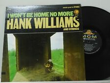 Hank Williams LP I Wont Be Home No More   MGM VG++