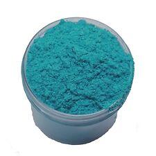 JAR 1oz Natural Ocean Blue Mica Pigment Powder Soap Making Cosmetics 1 ounce