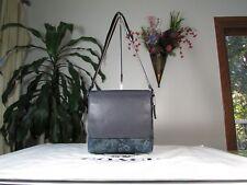 NWT Coach Canvas  Floral Hawaiian Print Small Messenger Bag F59301 Charles Blue