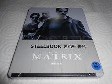 MATRIX KOREAN EXCLUSIVE STEELBOOK WITH OBI SEALED BRAND NEW RARE !!