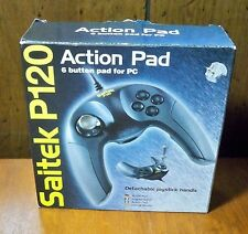 Saitek P120 PC 6 Button Controller Game Pad