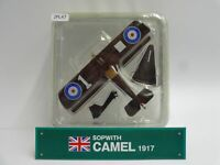 Del Prado Sopwith Camel 1917 1/63 Scale War Aircraft Diecast Display 47