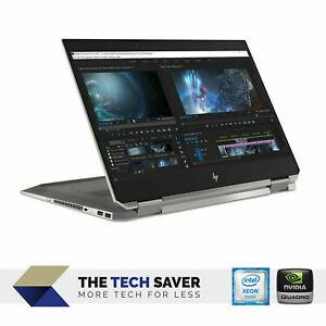 HP ZBook Studio X360 G5 15.6 FHD Touch Xeon E-2186M, 32GB, 1TB SSD, NVIDIA, 4G