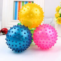 Kids Inflatable Ball Rubber Toy Baby Outdoor Thorn Balloon Developmental Ball EO