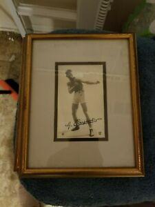 VINTAGE ORIGINAL GEORGES CARPENTIER RRPC FRAMED REAL PHOTO POSTCARD  GROBEE1957