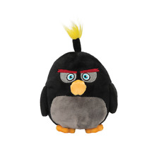 Angry Birds 6 inch Plush Bomb Soft Toy ~ NWT
