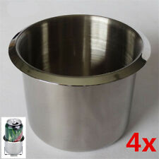 4x 68mm Stainless Steel Car Boat RV Cup Bottle Can Holder Stand Anti Corrosion