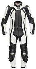 Neuer XLS Zweiteiler Lederkombi schwarz weiß Mod. Escalade Gr. 48 50 52 54 56 58