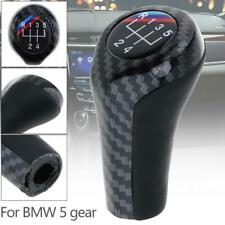 5 SPEED GEAR SHIFT SHIFTER KNOB FOR BMW 1 3 5 6 SERIES E38 E39 E46 E60 E90 E91
