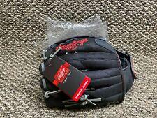 New Rawlings Renegade 13in Softball Glove Zero Shock Black & Red R130BGSH