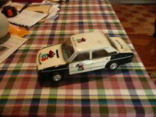 voiture  en tôle police SEAT  de marque roman ,marque espagnol  - année 60 -