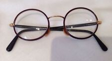 Metal & Plastic Frame Round Vintage Spectacles Original
