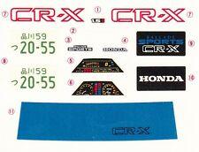 TAMIYA Decal 24040 1/24 Honda Ballade Sports CR-X 1.5i