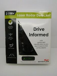 Whistler Z-19R+ High Performance Bilingual Radar Laser Detector